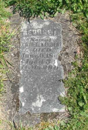 SANDERS, GEORGE F - Polk County, Oregon | GEORGE F SANDERS - Oregon Gravestone Photos