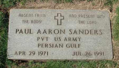 SANDERS (PG), PAUL AARON - Polk County, Oregon | PAUL AARON SANDERS (PG) - Oregon Gravestone Photos