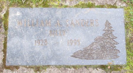 SANDERS, WILLIAM ALVIN - Polk County, Oregon | WILLIAM ALVIN SANDERS - Oregon Gravestone Photos