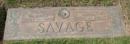 SAVAGE, ALWILDA - Polk County, Oregon | ALWILDA SAVAGE - Oregon Gravestone Photos