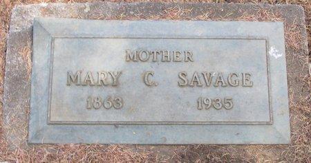 SAVAGE, MARY C - Polk County, Oregon | MARY C SAVAGE - Oregon Gravestone Photos