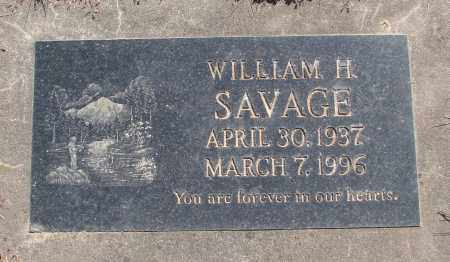 SAVAGE, WILLIAM H - Polk County, Oregon | WILLIAM H SAVAGE - Oregon Gravestone Photos