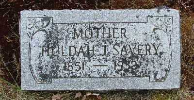 SAVERY, HULDAH JANE - Polk County, Oregon | HULDAH JANE SAVERY - Oregon Gravestone Photos