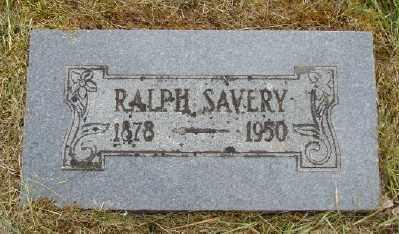 SAVERY, RALPH - Polk County, Oregon | RALPH SAVERY - Oregon Gravestone Photos