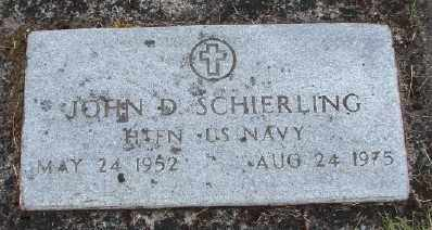 SCHIERLING (SERV), JOHN D - Polk County, Oregon   JOHN D SCHIERLING (SERV) - Oregon Gravestone Photos