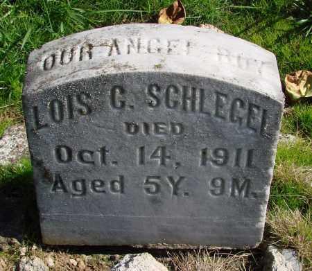 SCHLEGEL, LOIS G - Polk County, Oregon | LOIS G SCHLEGEL - Oregon Gravestone Photos