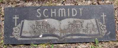 SCHMIDT, BERTHA - Polk County, Oregon   BERTHA SCHMIDT - Oregon Gravestone Photos