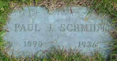 SCHMIDT, PAUL J - Polk County, Oregon | PAUL J SCHMIDT - Oregon Gravestone Photos