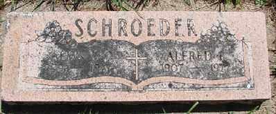 SCHROEDER, ALFRED RAY - Polk County, Oregon | ALFRED RAY SCHROEDER - Oregon Gravestone Photos