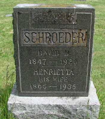 SCHROEDER, HENRIETTA - Polk County, Oregon   HENRIETTA SCHROEDER - Oregon Gravestone Photos