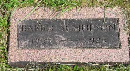 SCHULSON, BARBO - Polk County, Oregon | BARBO SCHULSON - Oregon Gravestone Photos