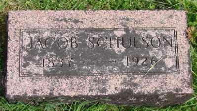 SCHULSON, JACOB - Polk County, Oregon | JACOB SCHULSON - Oregon Gravestone Photos