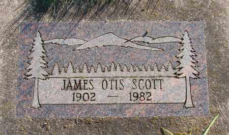SCOTT, JAMES OTIS - Polk County, Oregon   JAMES OTIS SCOTT - Oregon Gravestone Photos