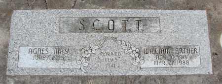 SCOTT, WILLIAM ARTHUR - Polk County, Oregon | WILLIAM ARTHUR SCOTT - Oregon Gravestone Photos