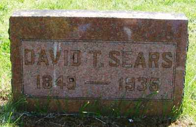 SEARS, DAVID THORNTON - Polk County, Oregon | DAVID THORNTON SEARS - Oregon Gravestone Photos