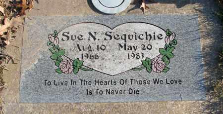SEQUICHIE, SUE N - Polk County, Oregon | SUE N SEQUICHIE - Oregon Gravestone Photos