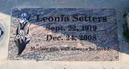 SETTERS, LEONIA - Polk County, Oregon   LEONIA SETTERS - Oregon Gravestone Photos