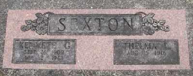 SEXTON, KENNETH G - Polk County, Oregon | KENNETH G SEXTON - Oregon Gravestone Photos