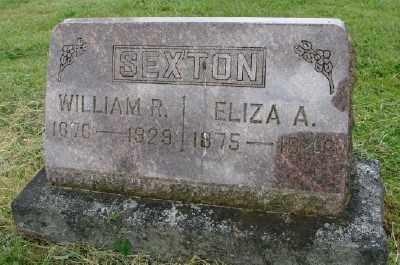 SEXTON, ELIZA A - Polk County, Oregon | ELIZA A SEXTON - Oregon Gravestone Photos