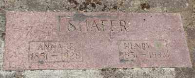 SHAFER, HENRY - Polk County, Oregon | HENRY SHAFER - Oregon Gravestone Photos