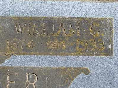 SHAFER, WILLIAM G - Polk County, Oregon | WILLIAM G SHAFER - Oregon Gravestone Photos