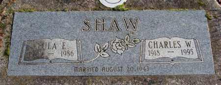 SHAW, EULA E - Polk County, Oregon | EULA E SHAW - Oregon Gravestone Photos