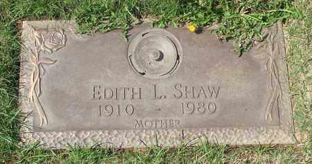 SHAW, EDITH L - Polk County, Oregon | EDITH L SHAW - Oregon Gravestone Photos