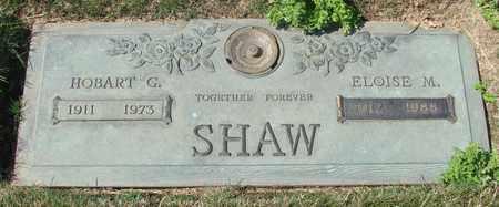 SHAW, HOBART G - Polk County, Oregon   HOBART G SHAW - Oregon Gravestone Photos