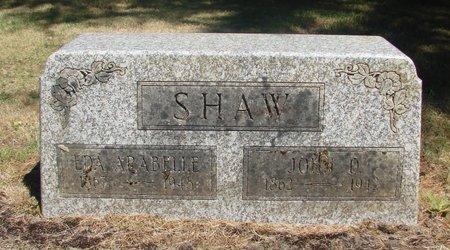 SHAW, EDA ARABELLE - Polk County, Oregon | EDA ARABELLE SHAW - Oregon Gravestone Photos