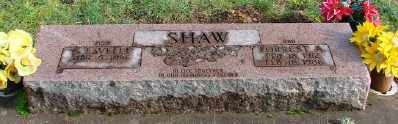 SHAW, FORREST A - Polk County, Oregon | FORREST A SHAW - Oregon Gravestone Photos