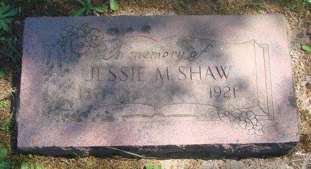 SHAW, JESSIE M - Polk County, Oregon | JESSIE M SHAW - Oregon Gravestone Photos