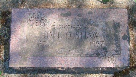 SHAW, JOEL O - Polk County, Oregon   JOEL O SHAW - Oregon Gravestone Photos