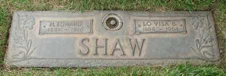 SHAW, LO VISA B - Polk County, Oregon | LO VISA B SHAW - Oregon Gravestone Photos