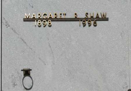 SHAW, MARGARET R - Polk County, Oregon | MARGARET R SHAW - Oregon Gravestone Photos