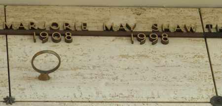 SHAW, MARJORIE MAY - Polk County, Oregon | MARJORIE MAY SHAW - Oregon Gravestone Photos