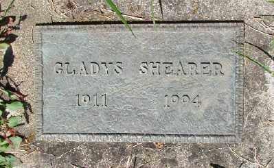 SHEARER, GLADYS - Polk County, Oregon | GLADYS SHEARER - Oregon Gravestone Photos