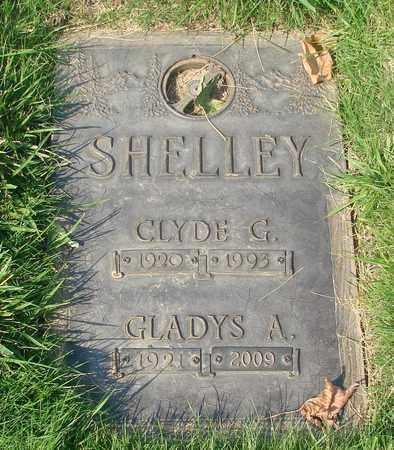 SHELLEY, CLYDE GEORGE - Polk County, Oregon | CLYDE GEORGE SHELLEY - Oregon Gravestone Photos