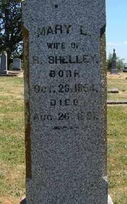 SHELLEY, MARY L - Polk County, Oregon | MARY L SHELLEY - Oregon Gravestone Photos