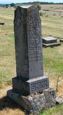 SHINN, SARAH L - Polk County, Oregon | SARAH L SHINN - Oregon Gravestone Photos