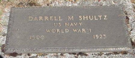 SHULTZ, DARRELL MAXWELL - Polk County, Oregon   DARRELL MAXWELL SHULTZ - Oregon Gravestone Photos