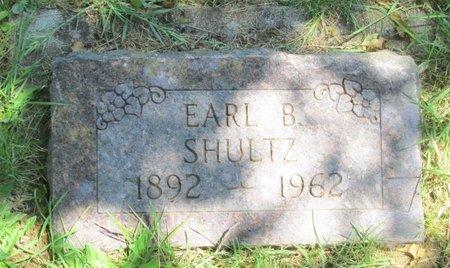 SHULTZ, EARL B - Polk County, Oregon | EARL B SHULTZ - Oregon Gravestone Photos
