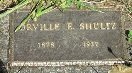SHULTZ, ORVILLE E - Polk County, Oregon | ORVILLE E SHULTZ - Oregon Gravestone Photos
