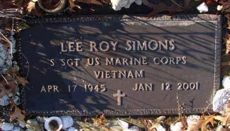 SIMONS (VN), LEE ROY - Polk County, Oregon | LEE ROY SIMONS (VN) - Oregon Gravestone Photos