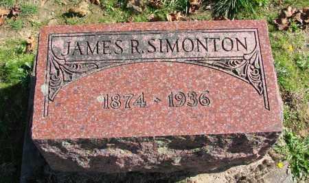 SIMONTON, JAMES R - Polk County, Oregon | JAMES R SIMONTON - Oregon Gravestone Photos