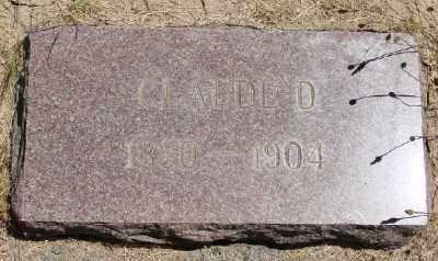 SIMPSON, CLAUDE D - Polk County, Oregon | CLAUDE D SIMPSON - Oregon Gravestone Photos
