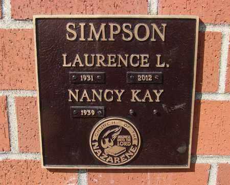 SIMPSON, NANCY KAY - Polk County, Oregon   NANCY KAY SIMPSON - Oregon Gravestone Photos