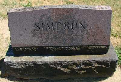 SIMPSON, MONUMENT - Polk County, Oregon | MONUMENT SIMPSON - Oregon Gravestone Photos
