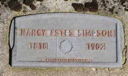 JACKSON, NANCY - Polk County, Oregon | NANCY JACKSON - Oregon Gravestone Photos