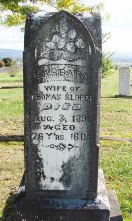 SLOPER, BARBARA - Polk County, Oregon   BARBARA SLOPER - Oregon Gravestone Photos