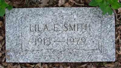 SMITH, LILA E - Polk County, Oregon | LILA E SMITH - Oregon Gravestone Photos